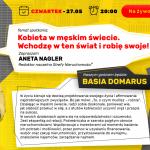 Spotkanie z okazji PREMIERY 12. numeru z Basią Domarus